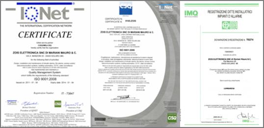 certificazioni-ZOIS